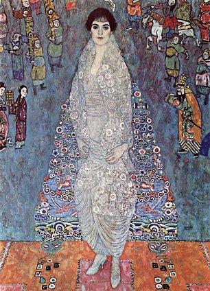 Gustav Klimt Baronin Elisabeth Bachofen Echt Wandbilder
