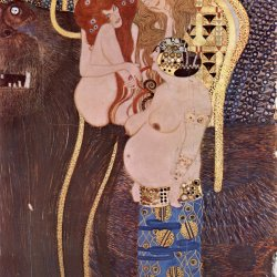 Gustav-Klimt-Beethovenfries-2