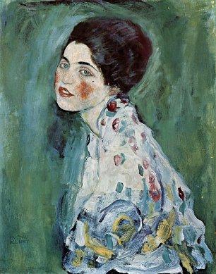 Gustav Klimt Damenbildnis 1 Wandbilder
