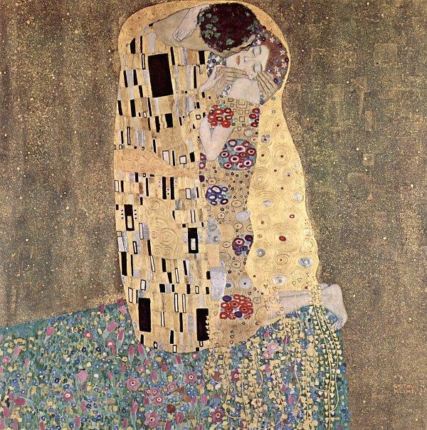 Das küssende Paar von Gustav Klimt