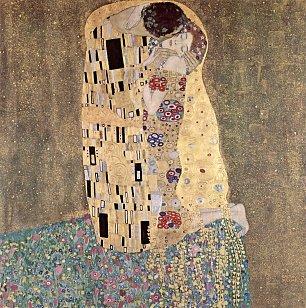 Gustav Klimt Der Kuss Wandbilder