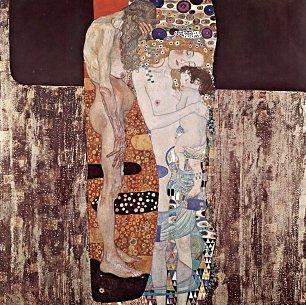 Gustav Klimt Die drei Lebensalter Wandbilder