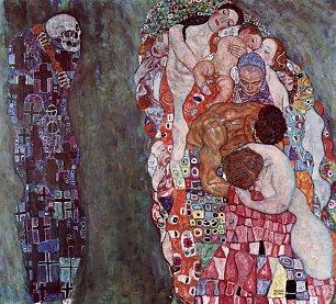 Gustav Klimt Tod und Leben Wandbilder
