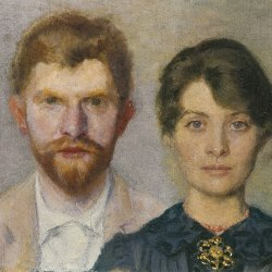 Peder-Severin-Kroyer-Double-portrait-of-Marie-and-P-S-Kroyer