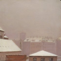 Peder-Severin-Kroyer-Roofs-under-the-Snow