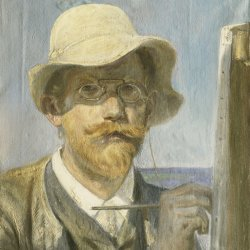 Peder-Severin-Kroyer-Self-portrait-at-the-easel