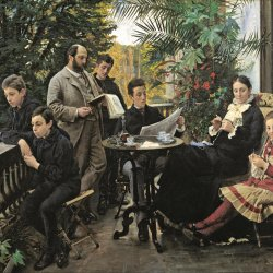 Peder-Severin-Kroyer-The-Hirschsprung-family-portrait