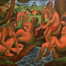 Bohumil-Kubista-Women-in-Bath