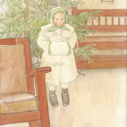 Carl-Larsson-Girl-and-rocking-chair