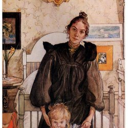 Carl-Larsson-Karin-and-Kersti
