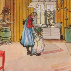 Carl-Larsson-The-kitchen