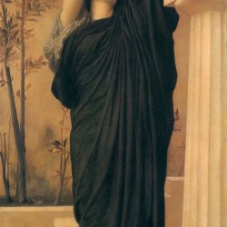 Frederic-Leighton-Electra-at-the-Tomb-of-Agamemnon