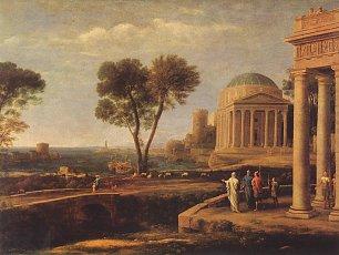 Claude Lorrain Aeneas in Delos Wandbilder