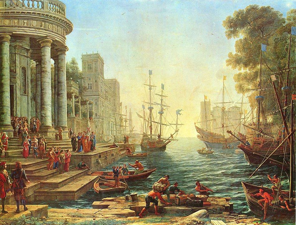 Landschaftsmalerei barock  ✅ Landschafts Wandbilder, Leinwandbilder, Poster kaufen