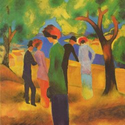 August-Macke-Dame-in-gruener-Jacke