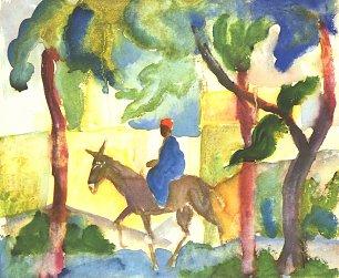 August Macke Eselreiter Wandbilder