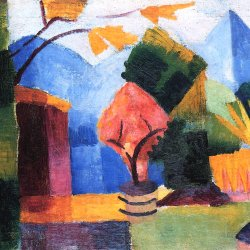 August-Macke-Garten-am-Thuner-See