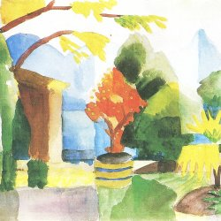 August-Macke-Garten-in-Hilterfingen