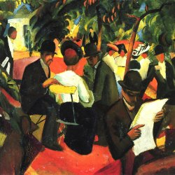 August-Macke-Gartenrestaurant