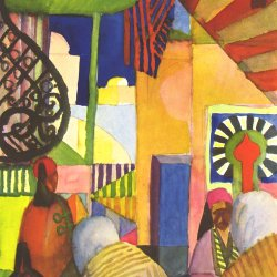 August-Macke-Im-Basar