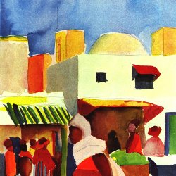 August-Macke-Markt-in-Algier