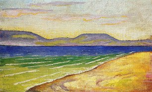 August Macke Morgenstimmung am Tegernsee