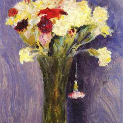 August-Macke-Nelken-in-gruener-Vase