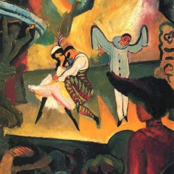 August-Macke-Russisches-Ballett-1