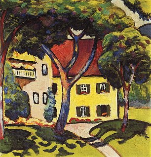 August Macke Staudacherhaus in Tegernsee