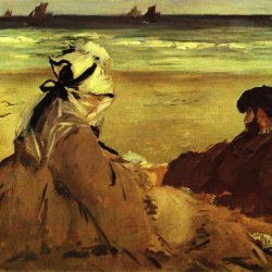 Edouard-Manet-Am-Strand