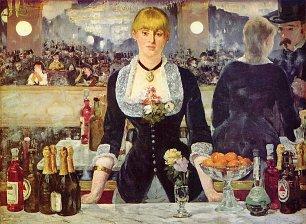 Edouard Manet Bar in den Folies Bergere Wandbilder
