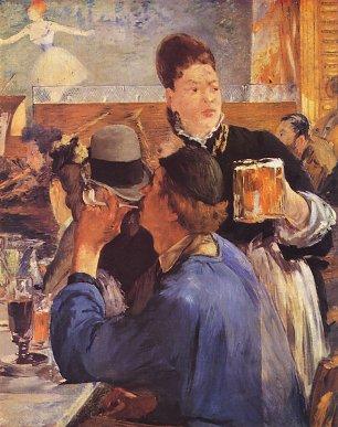 Edouard Manet Bierkellnerin Wandbilder