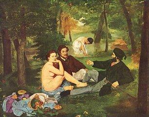 Edouard Manet Fruehstueck Wandbilder