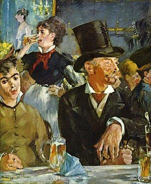 Edouard Manet Im Cafe Conert Wandbilder