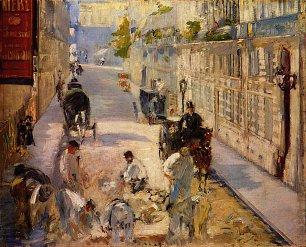 Edouard Manet Strassenarbeiter Rue de Berne Wandbilder