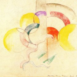 Franz-Marc-Abstraktes-Aquarell-2