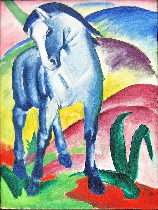 Franz Marc Blaues Pferd