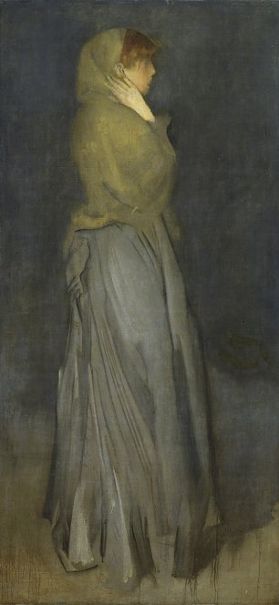 James McNeil Whistler Arrangement in Yellow and Gray Effie Deans Wandbild