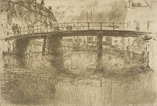 James McNeil Whistler Bridge Amsterdam Wandbild