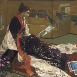 James-McNeil-Whistler-Caprice-in-Purple-and-Gold-The-Golden-Screen