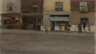 James McNeil Whistler Chelsea Shops Wandbild