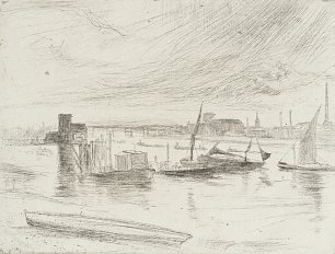 James McNeil Whistler Early Morning Battersea