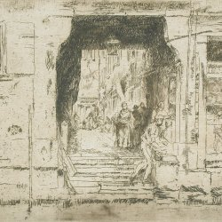 James-McNeil-Whistler-Fish-Shop-Venice