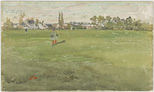 James McNeil Whistler Green and Silver Beaulieu Touraine