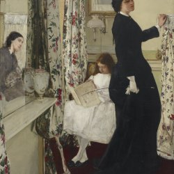 James-McNeil-Whistler-Harmony-in-Green-and-Rose-The-Music-Room