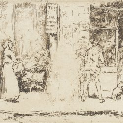 James-McNeil-Whistler-Newspaper-Stall-Rue-de-Seine