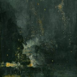 James-McNeil-Whistler-Nocturne-in-Black-and-Gold-The-Falling-Rocket