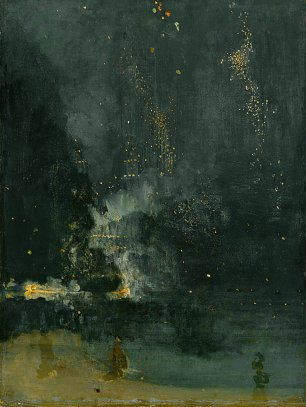 James McNeil Whistler Nocturne in Black and Gold The Falling Rocket Wandbild
