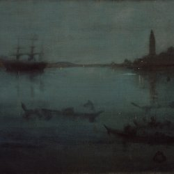 James-McNeil-Whistler-Nocturne-in-Blue-and-Silver-The-Lagoon-Venice