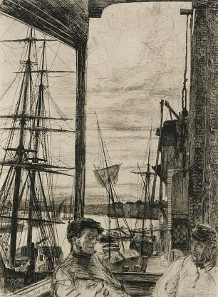 James McNeil Whistler Rotherhithe